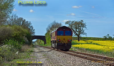 66112, Charndon, 0Z60, 15th April 2014