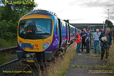 185 118, TPE Tracker  Tour, Denton Station, 1Z70, 8th September 2013