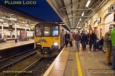 150 927, FGW Tracker Tour II, Exeter St. David's, 2Z13, 12th October 2013