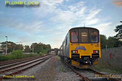 150 927, FGW Tracker Tour II, Goodrington CHS, 2Z12, 12th October 2013