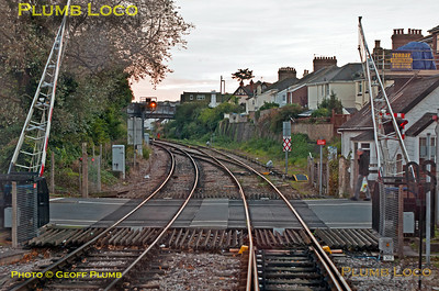 FGW Tracker Tour II, Paignton South Level-Crossing, 2Z13, 12th October 2013