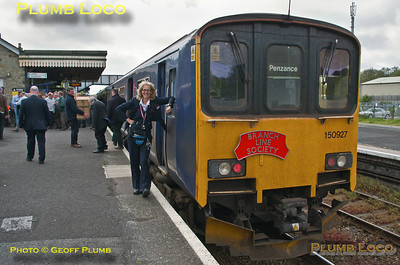 FGW Tracker Tour III, 150 927 & Jan Southon, Par Station, 2Z11, 10th May 2014