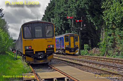150 927, FGW Tracker Tour III, Par Down Goods Loop, 2Z11, 10th May 2014