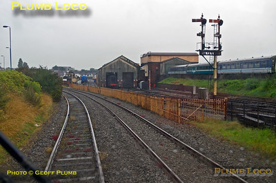 PoV 168 215, BLS Semaphore & Sidings Tracker, Tyseley Loco Works, 1Z22, 2nd August 2014