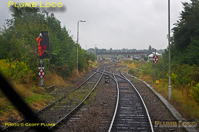 PoV 168 215, BLS Semaphore & Sidings Tracker, Tyseley Down Through Siding, 1Z22, 2nd August 2014