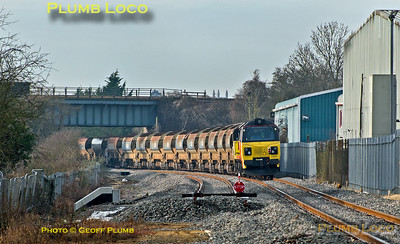 70809, Bicester, Gavray Junction, 6C32, 20th January 2015