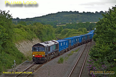 66413, Princes Risborough, 6Z22, 7th July 2014