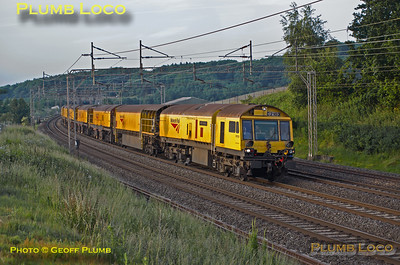 Loram Railgrinder C2103, Old Linslade, 6Z03, 19th June 2015