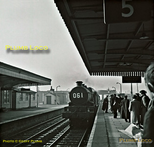 """5043 """"Earl of Mount Edgcumbe"""", Severn Tunnel Junction, 25th February 1963"""