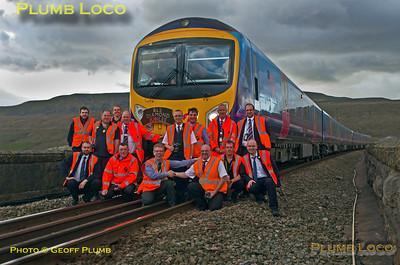 185151 & 185120, S&C Desiro Tracker, BLS + TPE Staff, Ribblehead Viaduct, 19th April 2015