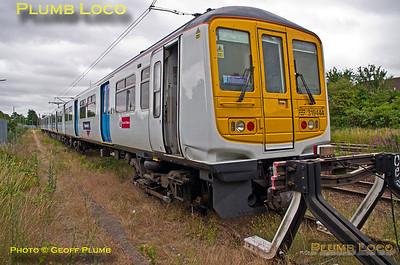 "319 444, BLS ""Thameslink Tracker"", Bedford North Siding, 1Z19, 12th July 2015"