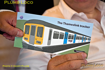 "Matthew Dodd, BLS ""Thameslink Tracker"", Souvenir Ticket, Bedford, 12th July 2015"