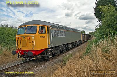 56104, Park Mill Crossing, 6Z57, 17th July 2015