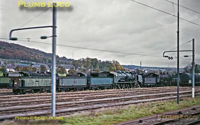 SNCF Steam Dump near Rouen, 13th November 1969