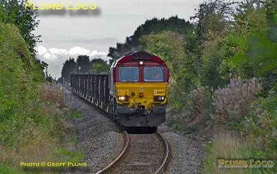 66057, Park Mill Farm, 6Z57, 9th October 2013