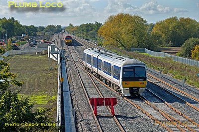 165 021, Bicester C.O.D. Sidings, 5T12, 8th October 2015
