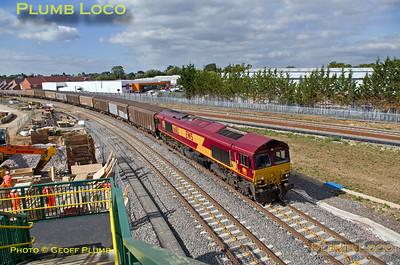 66113, Bicester Gavray Junction, 6A48, 28th September 2015