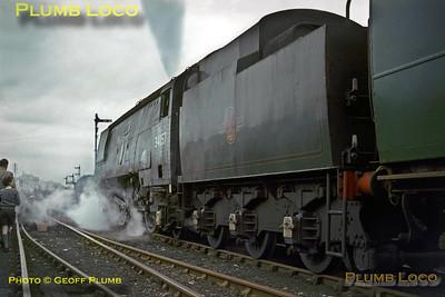 34057, Bath Green Park, 6th March 1966